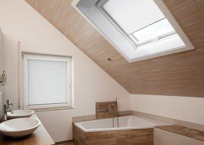 Dachfenster Plissee1